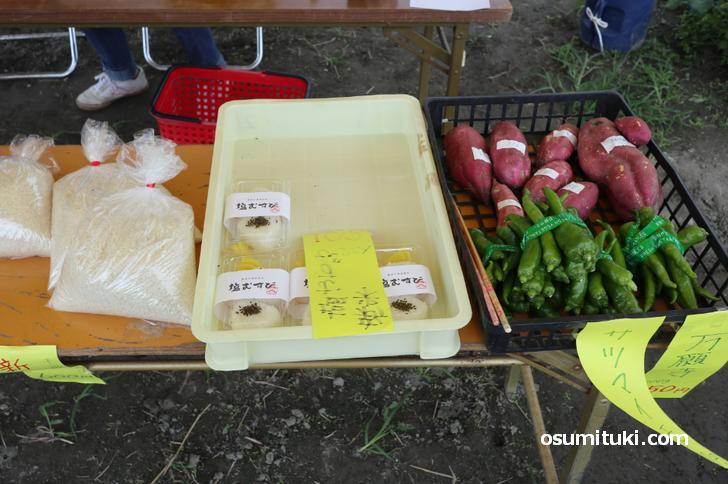 目の前の田んぼで収穫された令和2年産の新米(キヌヒカリ)を販売