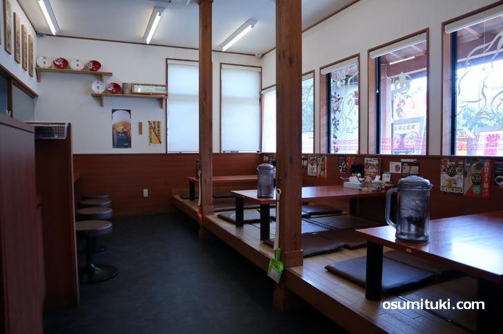 ラーメンまこと屋(枚方店)の例