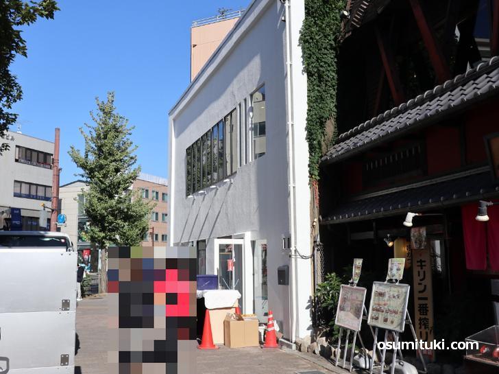 鴨川ベーカリー(店舗外観写真)