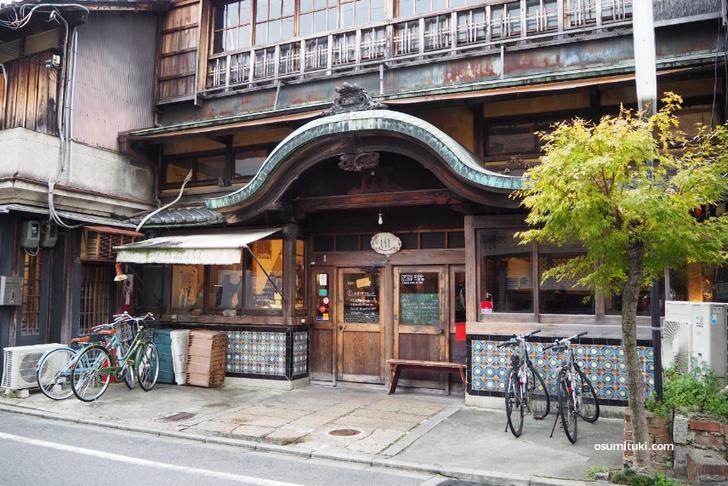 京都市北区(西陣)さらさ西陣は昭和初期の建築