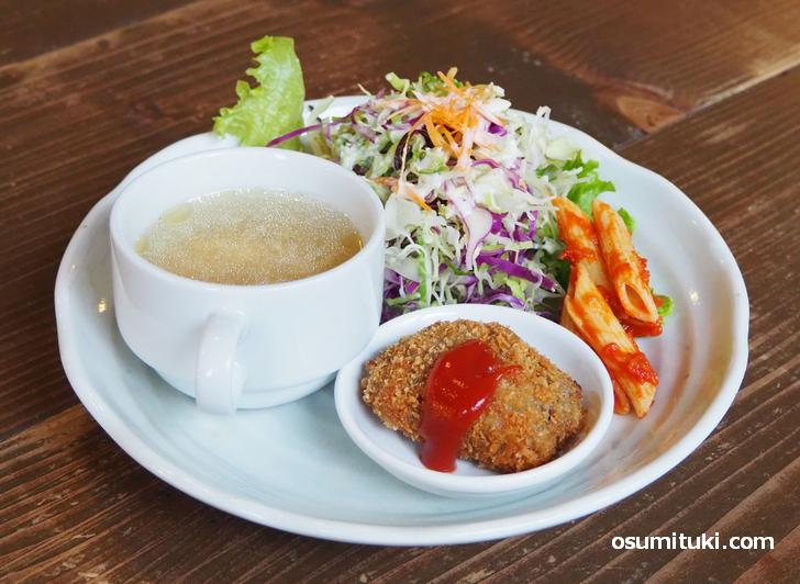 サラダ+お惣菜