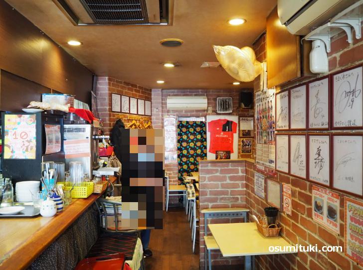 昔ながらの喫茶店という雰囲気です