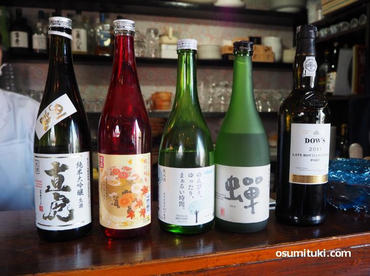 武将の名前が付いた日本酒やノンアルコールジンに織田信長が飲んだワインなど