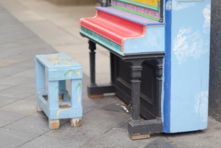 京都でストリートピアノって見たことないです