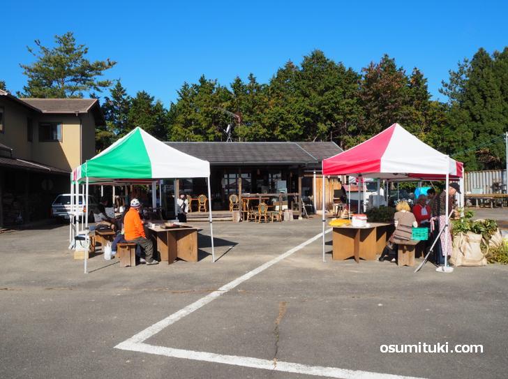 鷹峯山中にポツンとある謎の市場「鷹峯メルカート」