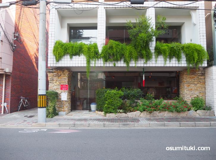 イル リストランテ(イタリア料理店)店舗外観写真