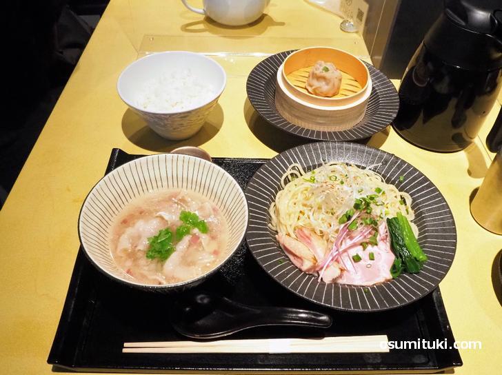 イベリコ豚のつけ麺(1200円)