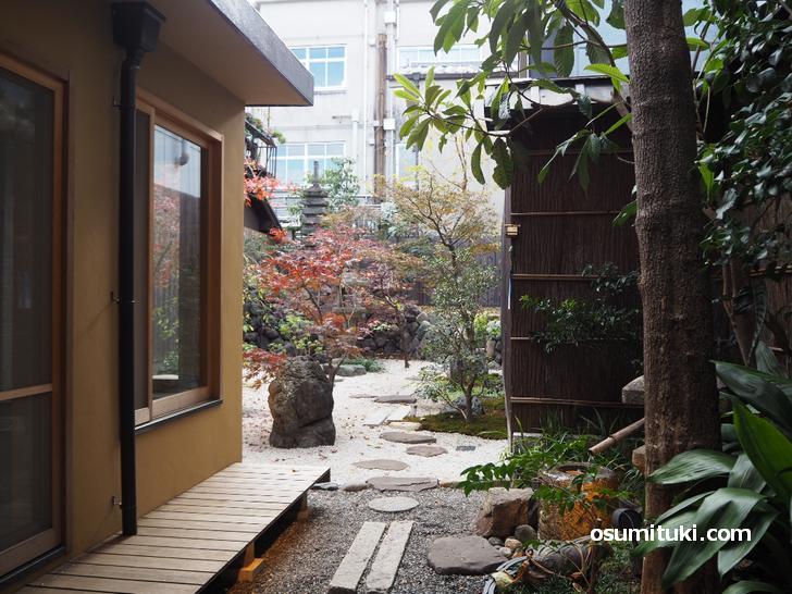 京都でこの規模のお庭があるのは珍しいです