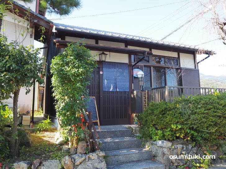 2020年8月12日オープン Tea Room (京都カフェ・北嵯峨)