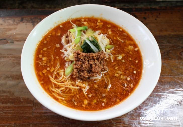 担々麺(750円)