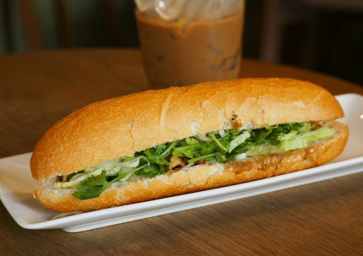 バインミーとはベトナムのサンドイッチのことです