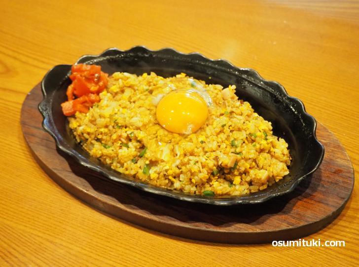 鉄板焼ドライカレー(700円)