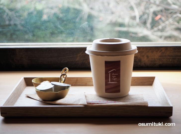 コーヒー レギュラーサイズ(420円)