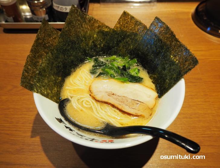 豚骨醤油(800円)