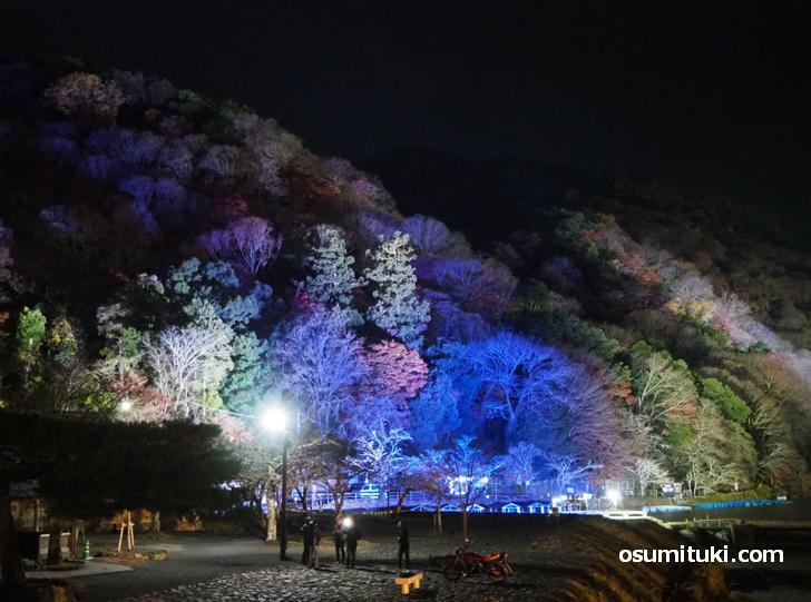 嵐山花灯路2020 へは阪急線を使うと近いです
