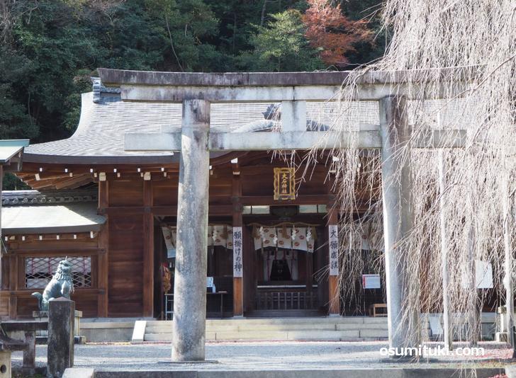 大石内蔵助を祭神とする大石神社(おおいしじんじゃ)