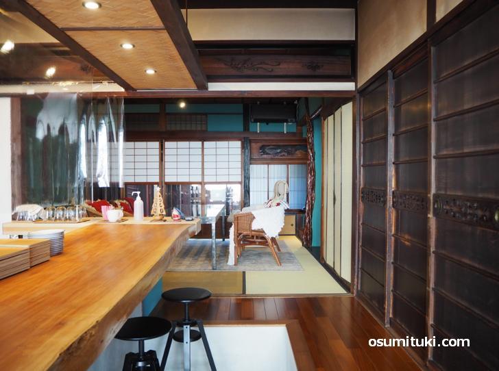楽平家cafe(店内写真、和室)