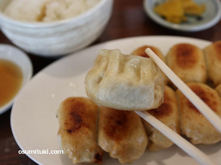 千葉のご当地グルメ「ホワイト餃子」が関西の滋賀県でも食べられる