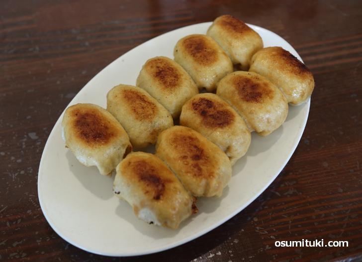 ホワイト餃子(10個480円)