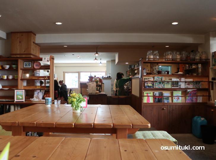 カフェ パラン(店内写真)