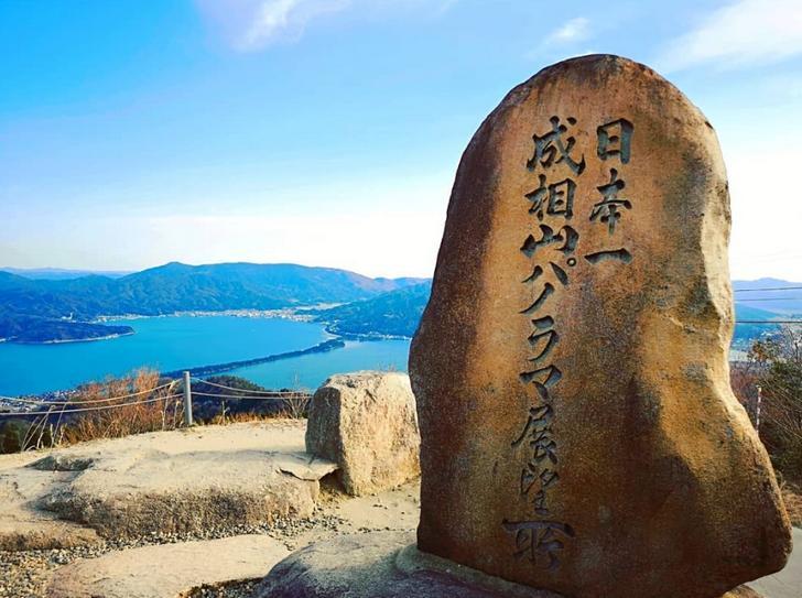 江戸時代の人々は天橋立を成相山から見ていた