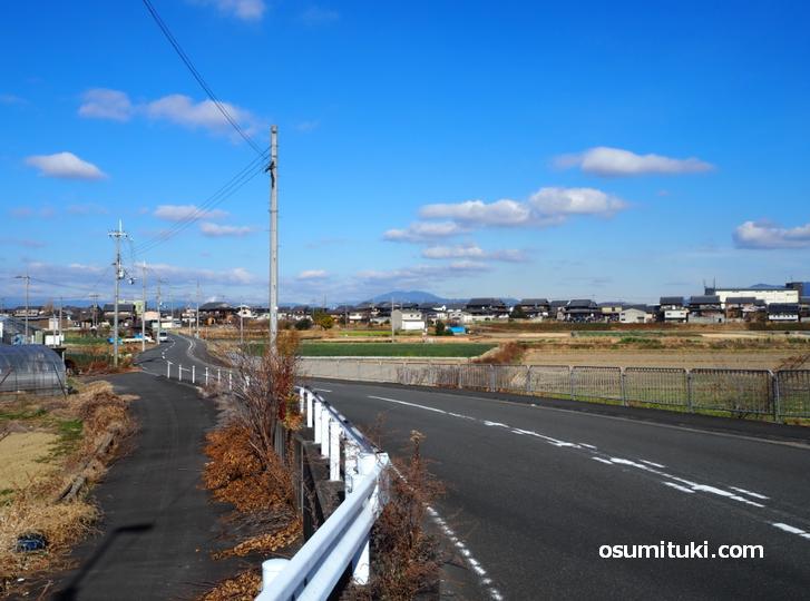 東いもあらい口から入ると田園風景が見られます