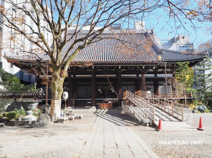 現在の本能寺は京都市役所前だが「本能寺の変」の年には元本能寺町にあった