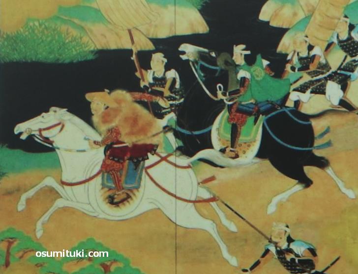 羽柴秀吉の「中国大返し」図