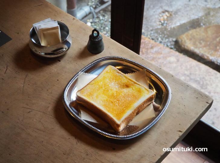 バタートースト(300円)