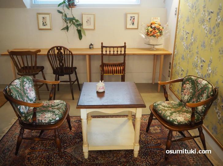 隠れ家のような洋館風カフェ「Botanic Coffee Kyoto」