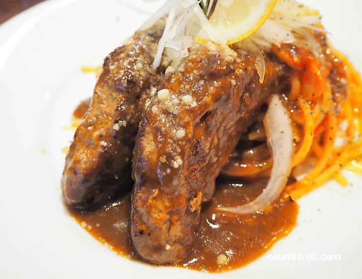 お肉が柔らかくてなかなかの美味です