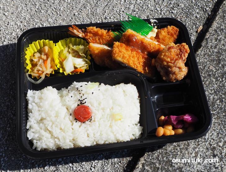 ごはん屋弁当(650円)