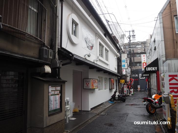 韓国屋台料理とナッコプセのお店ナム 西院店(店舗外観写真)