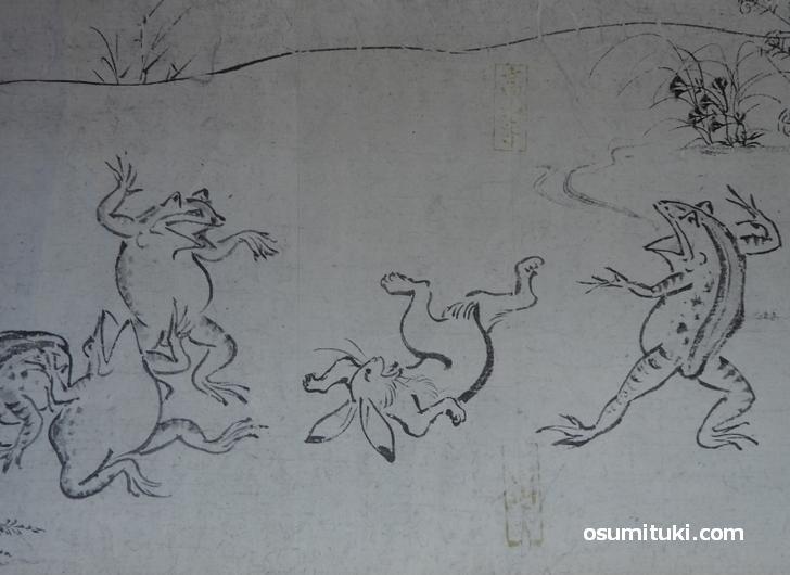 京都にある国宝「鳥獣人物戯画」が『歴史秘話ヒストリア』で紹介