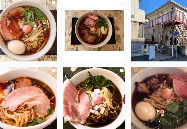仮麺食堂(インスタグラム)