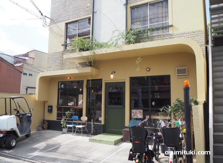Cozy cafe kyoto.(店舗外観写真)
