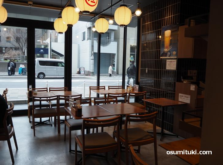 油そば専門店 麺市(店内写真)