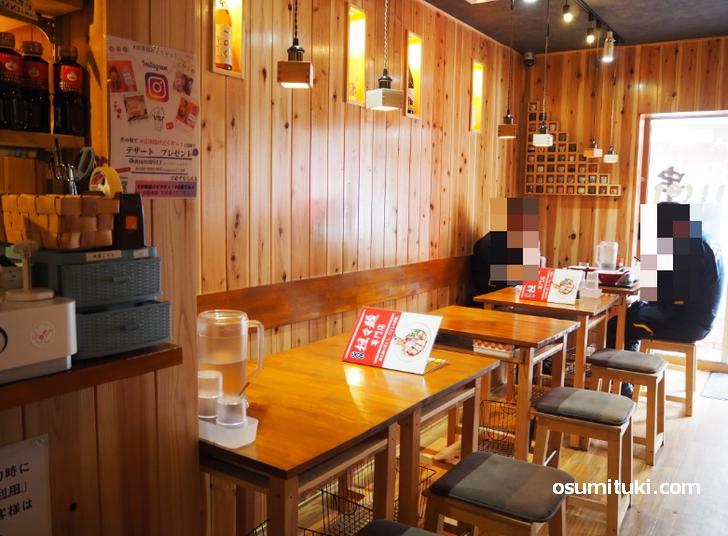 汁なし・担々麺専門店どうぞっ!(店内写真)