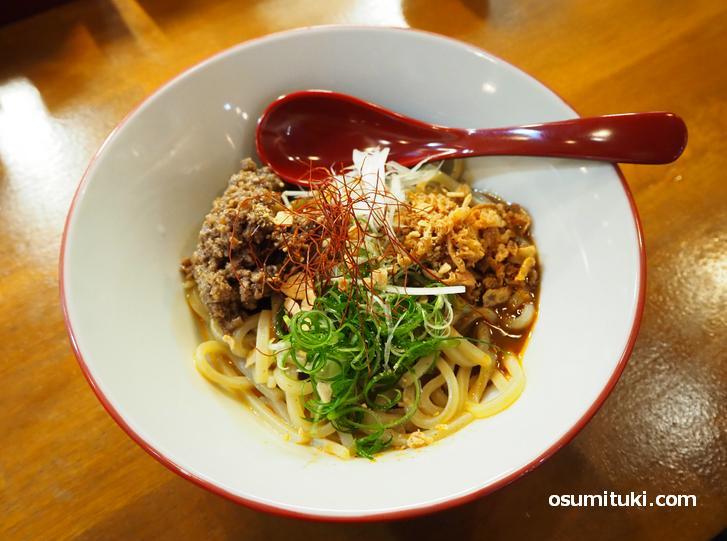 汁なし担々麺(700円)
