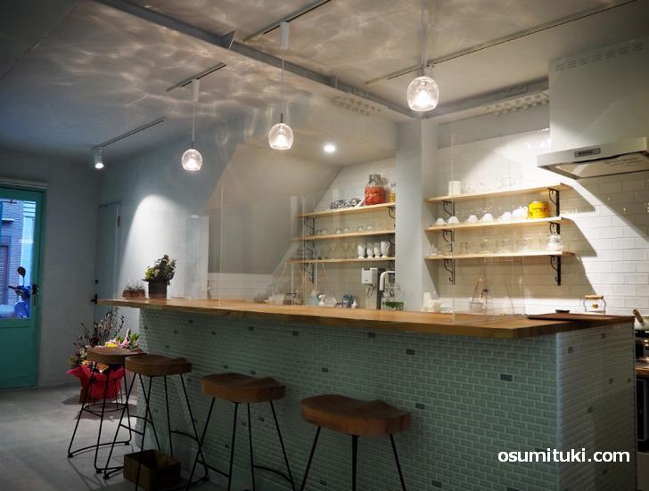 2021年2月12日オープン cafe grayish green(カフェグレイッシュグリーン)