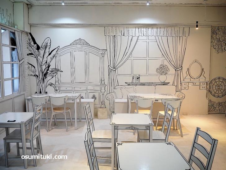 インクカフェ(店内写真)