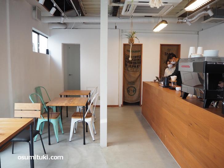 Manaia Coffee&Things(店内写真)