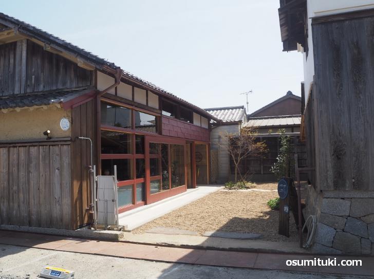 とても良い雰囲気の古民家カフェです(ハチハチカフェ)