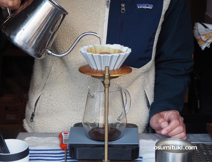 スペシャルティコーヒーはアイス・ホットの両方あります