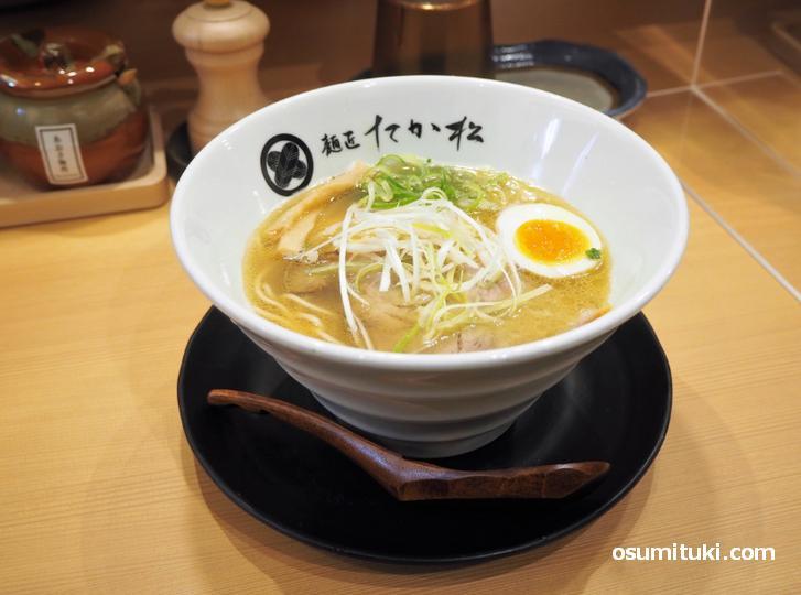 麺匠たか松 京都駅ビル拉麺小路店のラーメン
