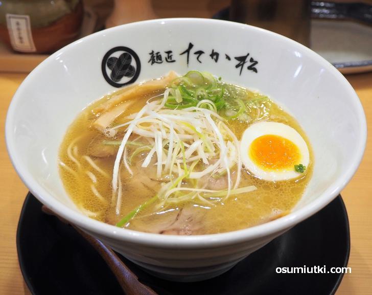 煮干し香る らぁ麺(並 140g)690円