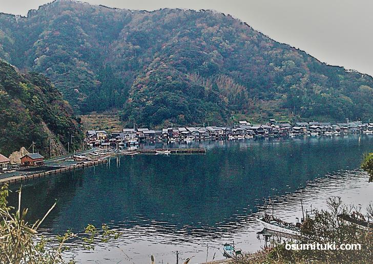 道の駅 舟屋の里伊根から見られる絶景