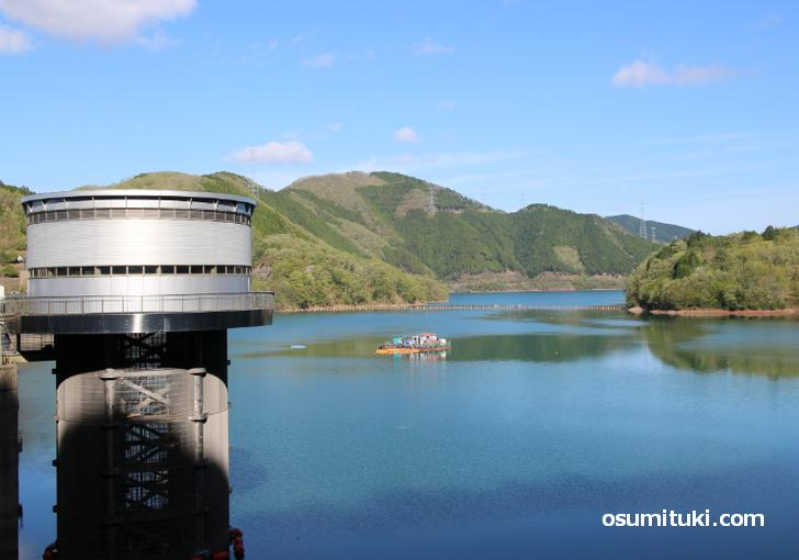 日吉ダムから見る絶景