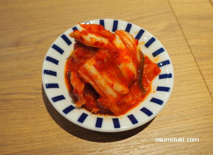 大きい肉厚の白菜キムチ
