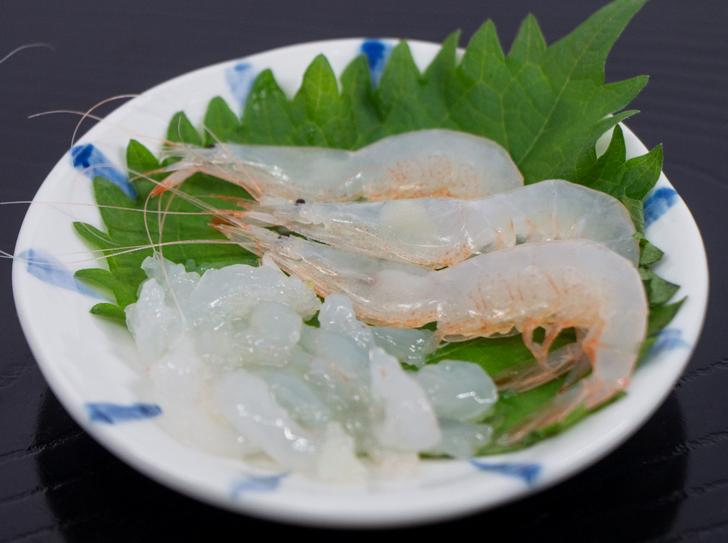 富山名物の白海老が『朝だ!生です旅サラダ』で紹介